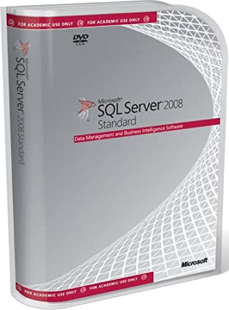 Microsoft SQL Server Standard Edition 2008 Educational DVD - 10 Client (PC CD)