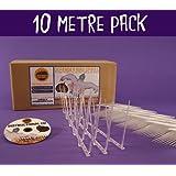 Defender Narrow Plastic Bird and Pigeon Spikes - 10 Metre Pack