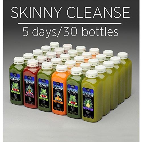 Skinny Juice Cleanse - 100% Raw - 5 Days W/ Free Shipping