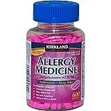 Diphenhydramine HCI 25 Mg - Kirkland Brand - Allergy Medicine and AntihistamineCompare to Active Ingredient of Benadryl� Allergy Generic - 600 Count ~ Kirkland Signature