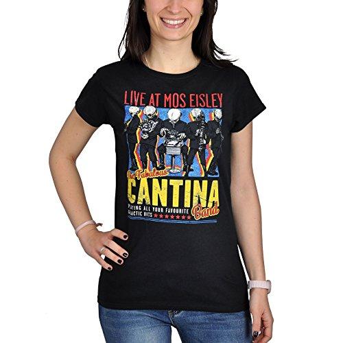 Star Wars Cantina Band On Tour Maglia donna nero S