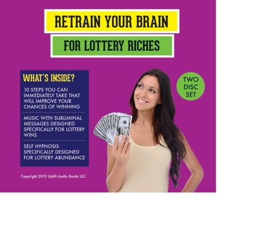 Original album cover of Retrain Your Brain for Lottery Riches by John N. Michaels