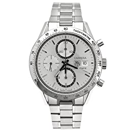 TAG Heuer Men s CV2017 BA0786 Carrera Automatic Chronograph Tachymeter Watch