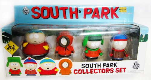Buy Low Price Mezco South Park 4 Piece Collectors Set (Cartman, Kenny,kyle,stan) Figure (B0028P3JNK)
