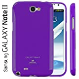 Mercury Slim Fit Flexible TPU Case for Samsung Galaxy Note 2 (Purple)