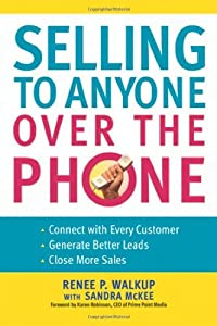 "Cover of ""Selling to Anyone Over the Phon..."