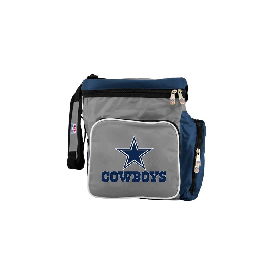 Dallas Cowboys Grey Team Logo Beverage Cooler