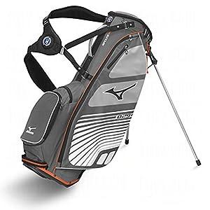Mizuno AEROLITE 029 Golf Standbag charcoal/orange