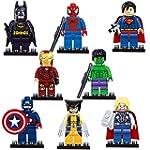 2015 New 8 Sets Super Heroes Minifigu...