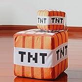 Minecraft(マインクラフト)エンダーマン TNT クッション 抱き枕 ぬいぐるみ コスプレ道具 大小 2個セット