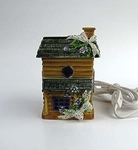Violet Bird House Electric Wax Warmer