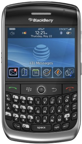 BlackBerry Curve 8900 Phone, Black (AT&T)