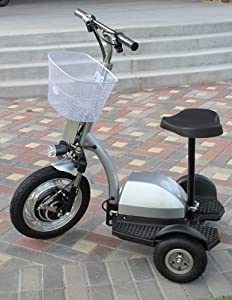 Q33 400 Watt 3 Wheel Electric Mobility Utility Scooter by Rad2Go