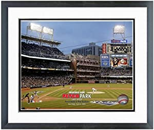 San Diego Padres Petco Park MLB Stadium Photo (Size: 22.5 x 26.5) Framed by MLB