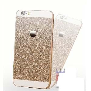 RIdhaniyaa [Iphone 4G/4S] Glittering Sparkle Hard Back Cover - (Gold Glitter)