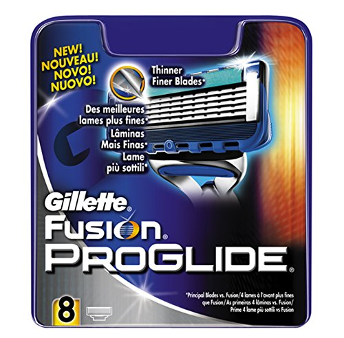 Gillette Fusion ProGlide Lame per Rasoio da Uomo, 8 Pezzi