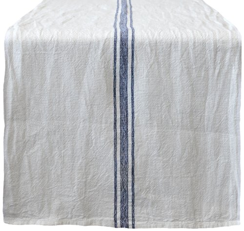Caravan collection by couleur nature khadhi vintage linen for 85 inch table runner