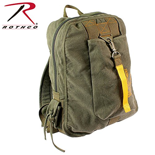 Olive Drab Vintage Canvas Flight Bag (Flight Gear Bag compare prices)
