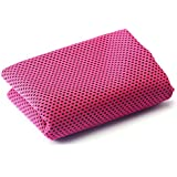 1PC Ice Cold Enduring Towel Running Jogging Gym Chilly Pad Instant Cooling Towel
