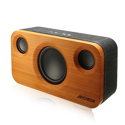 Bluetooth Speakers, ARCHEER 25W Home Speaker System Upgraded A320 with Huge Bass and Superior Stereo 2.1 Channel Sound from 10W Drivers and 15W Subwoofer