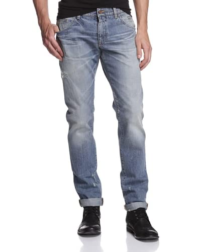 Dolce & Gabbana Men's Heavily Distressed Jean
