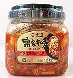 徳用 宗家(チョンカ)キムチ(白菜キムチ)1.2kg×2個 要冷蔵
