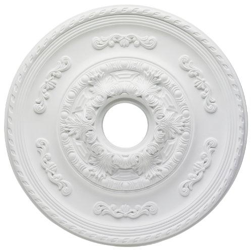 Westinghouse Lighting 7775700 Sofia Polyurethane Ceiling Medallion, 21-Inch Diameter