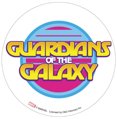 Licenses Products P/S Guardians of The Galaxy Retro Logo Sticker