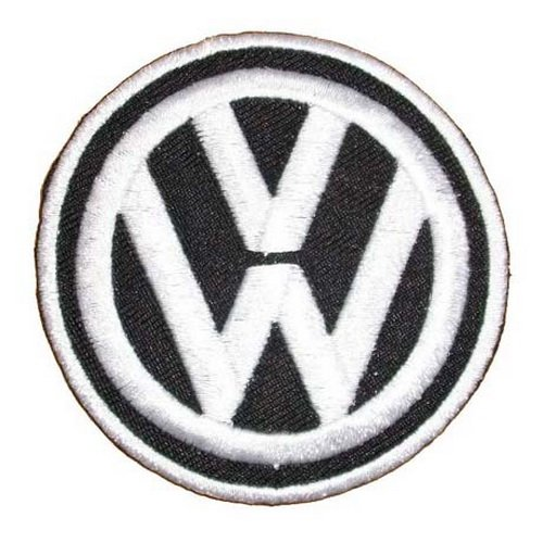 Volkswagen embroidered iron on patch sew car logo