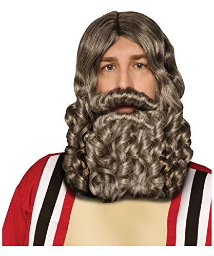 Biblical Wig and Beard Combo Pack