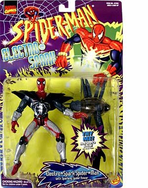 Spider-Man: The Animated Series Electro-Spark > Electro-Spark Spider-Man Action Figure - 1