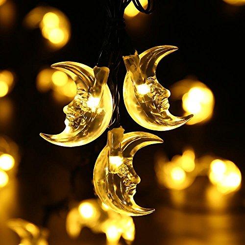 eplze-led-solar-light-water-resistant-6m-197ft-30leds-crescent-moon-fairy-lights-for-garden-yard-wed