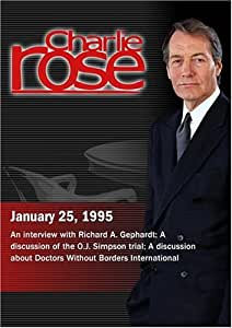 Charlie Rose with Richard A. Gephardt; Ted Wells, David Lewis & Jack Ford; Alain Destexhe, Fiona Terry & Evan Lee (January 25, 1995)