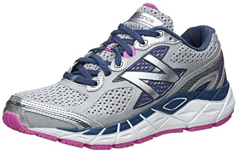 New Balance Women's W840V3 Running Shoe,Silver/Navy,6.5 2E US (Custom New Balance Shoes compare prices)