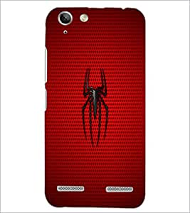 PrintDhaba Spider D-1877 Back Case Cover for LENOVO LEMON 3 (Multi-Coloured)