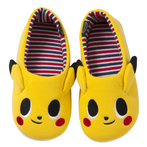 Zapatos-Pokemon-Center-habitacin-original-vez-lun-pok-Pikachu-Kids-180-Japn-importacin-El-paquete-y-el-manual-estn-escritos-en-japons