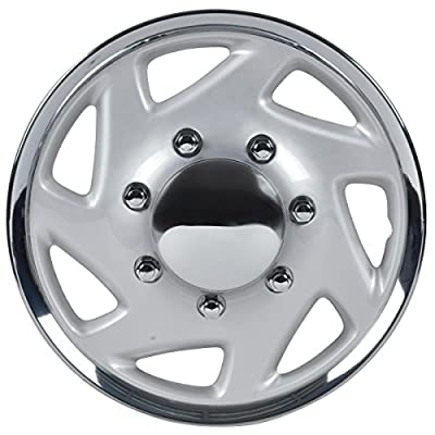 """BDK KT-317-16C/S, Ford, 16"""" Chrome Finish Replica Wheel Cover for Ford F150, ..."""