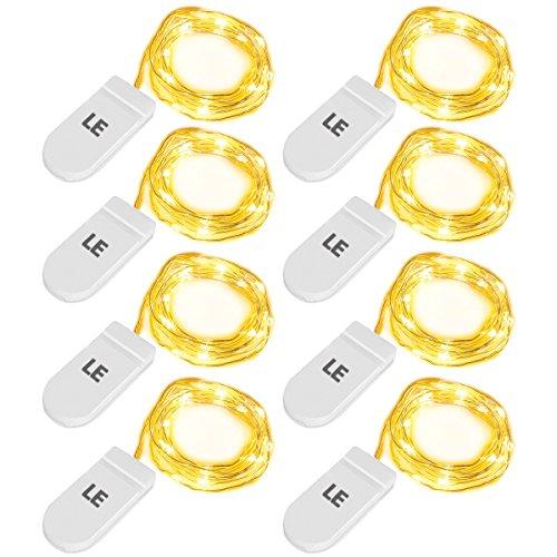le-8-pezzi-luci-stringa-a-batteria-led-filo-in-rame-decorativi-20-leds-1m