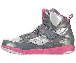 Jordan Flight 45 (Preschool) - Cool Grey / White-Metallic Platinum-Dynamic Pink, 11.5 M US