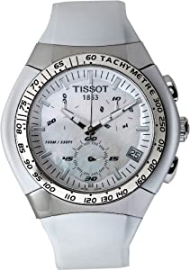 Tissot T0104171711100 Stainless Steel Case White Rubber Anti-Reflective Sapphire Men's Watch