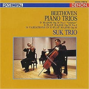 Beethoven:Piano Trio.5,6,etc [
