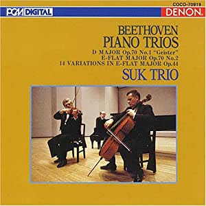 Beethoven:Piano Trio.5,6,etc [