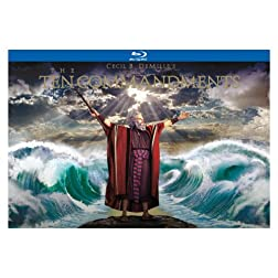 Ten Commandments: Ultimate Collectors Edition [Blu-ray]