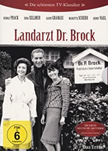 die sch nsten tv klassiker landarzt dr brock 4 dvds rudolf prack erna sellner gardy granass. Black Bedroom Furniture Sets. Home Design Ideas