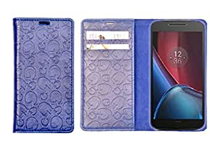 R&A Pu Leather Wallet Case Cover For Xiaomi Mi 4