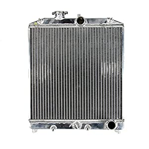 "Godspeed Aluminum Radiator 1992 1993 1994 1995 Honda Civic Eg + High Performance 12"" FAN X 1"