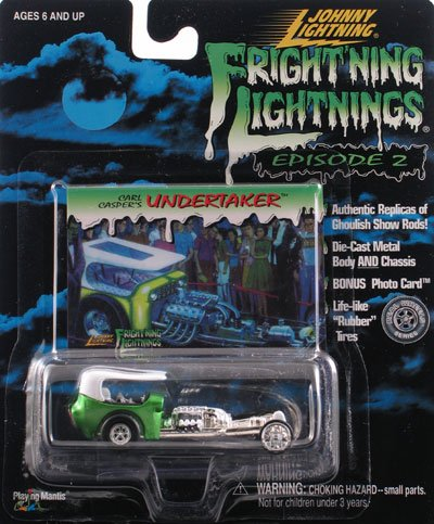Undertaker Ghoulish Show Rod Johnny Lightning Frightning Lightning 41201 1:64