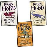 Robin Hobb Trilogy 3 Books Set Pack The Rain Wild Chronicles Collection (The Rain Wild Chronicles Collection) Robin Hobb