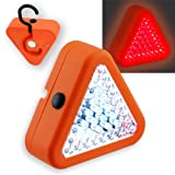 39 LED Emergency Warning Triangle - Hang or Magnet Attach