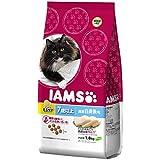 アイムス (IAMS) キャット インドア毛玉ケア 7歳以上用 厳選白身魚味 1.8kg